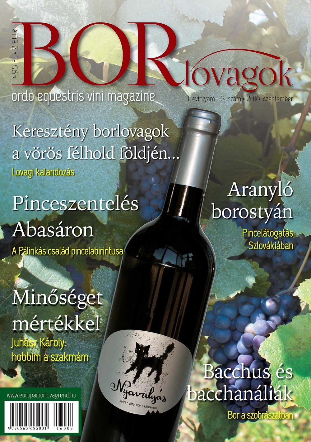 MEGJELENT: BORLOVAGOK Magazin 2016/3
