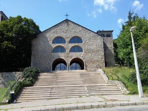 Támogatás kérése a pécsi Pálos Templom lépcsőzetének felújításához