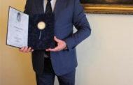 Dr. Sztancs György lovagbarátunk Erzsébet-díjat kapott