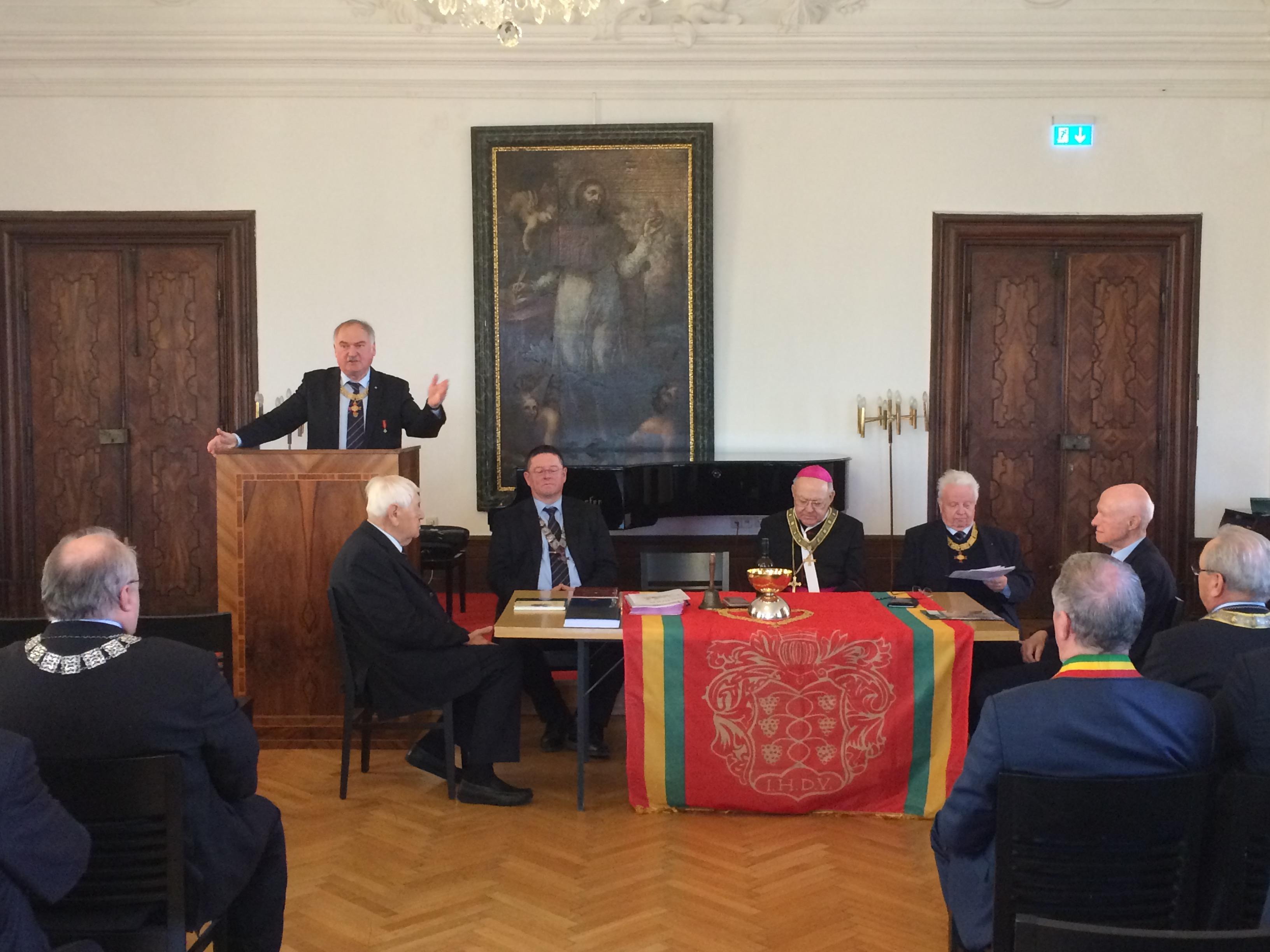 A XXIX. Lovagrendi Tanácskozás Klosterneuburgban 2017.03.11.