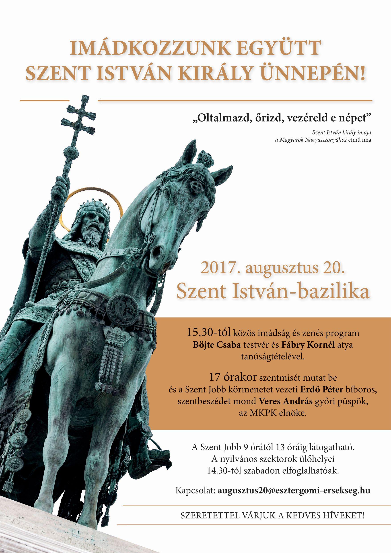 Szent István Bazilika 2017. augusztus 20.