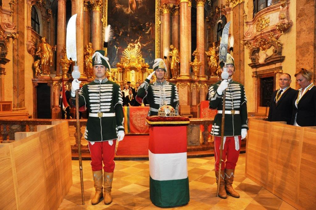 Felvételi és előlépési ünnepség Győrben 2017. augusztus 26-án