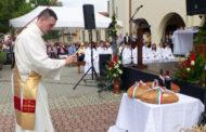 Bor és kenyér szentelés Szent István államalapító királyunk napján