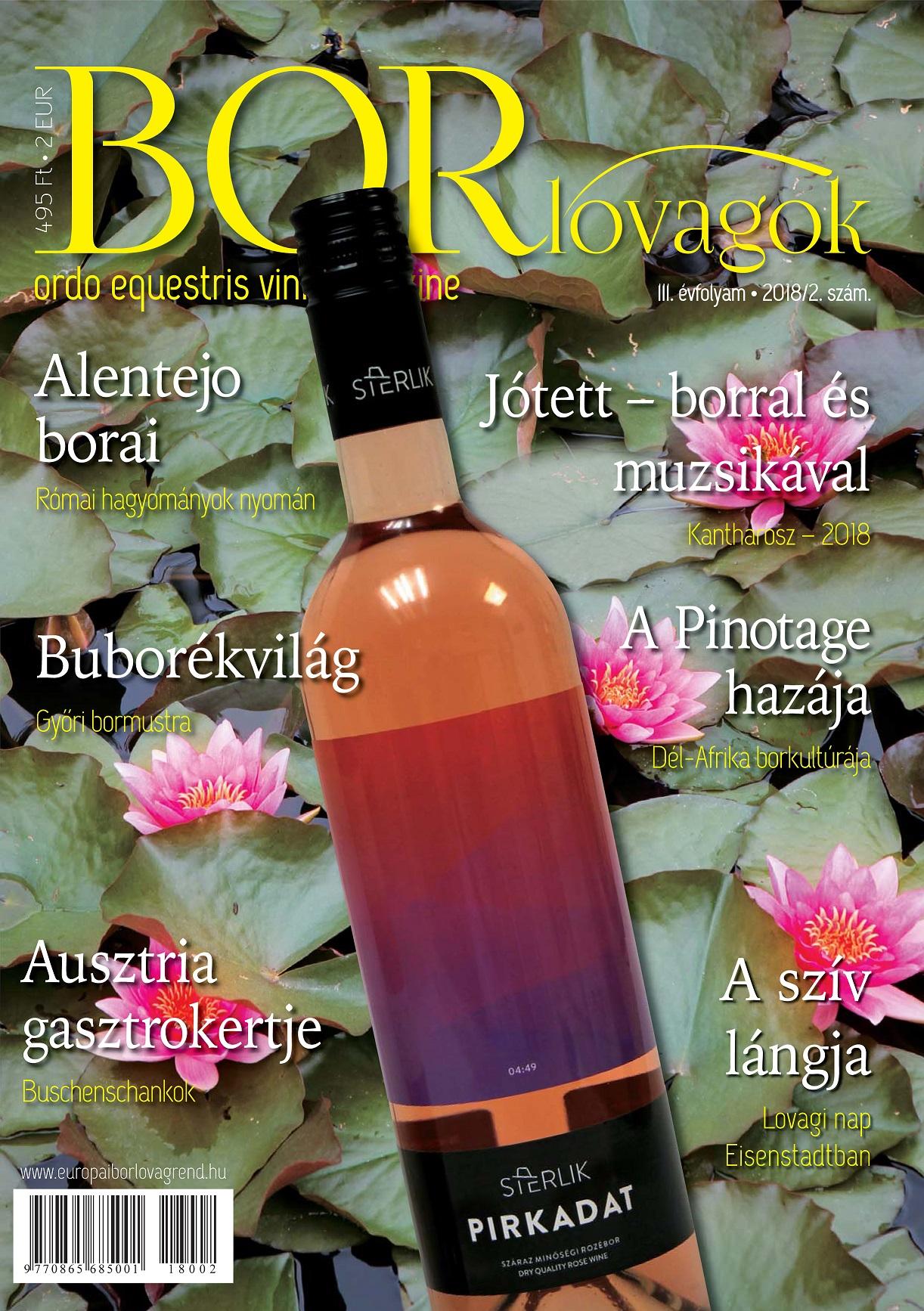 MEGJELENT A BORLOVAGOK Magazin 2018/2