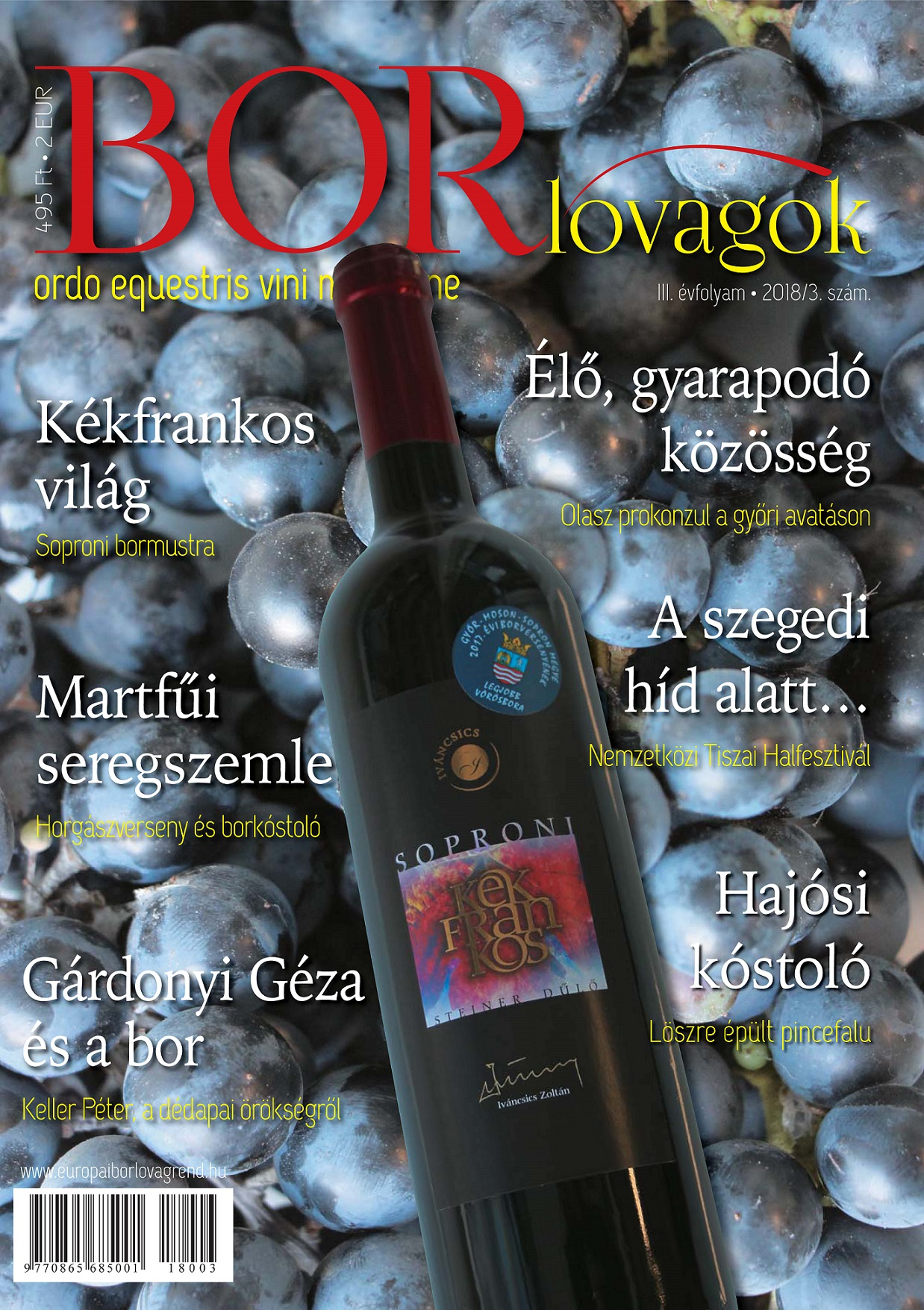 MEGJELENT A BORLOVAGOK Magazin 2018/3