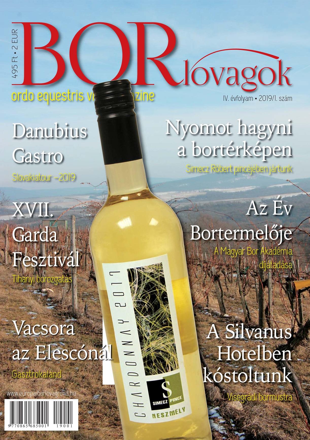 MEGJELENT A BORLOVAGOK Magazin 2019/1