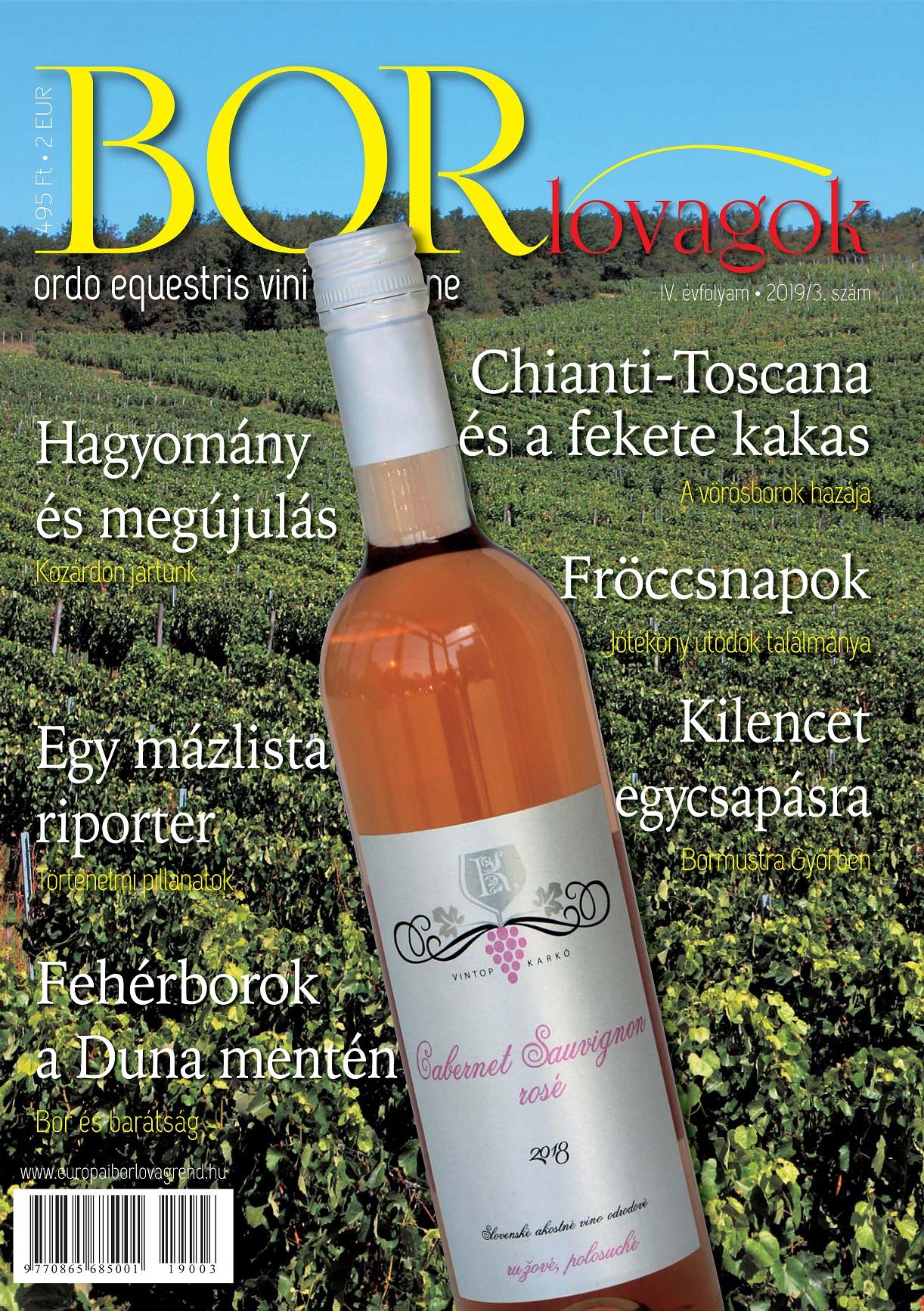 MEGJELENT A BORLOVAGOK Magazin 2019/3