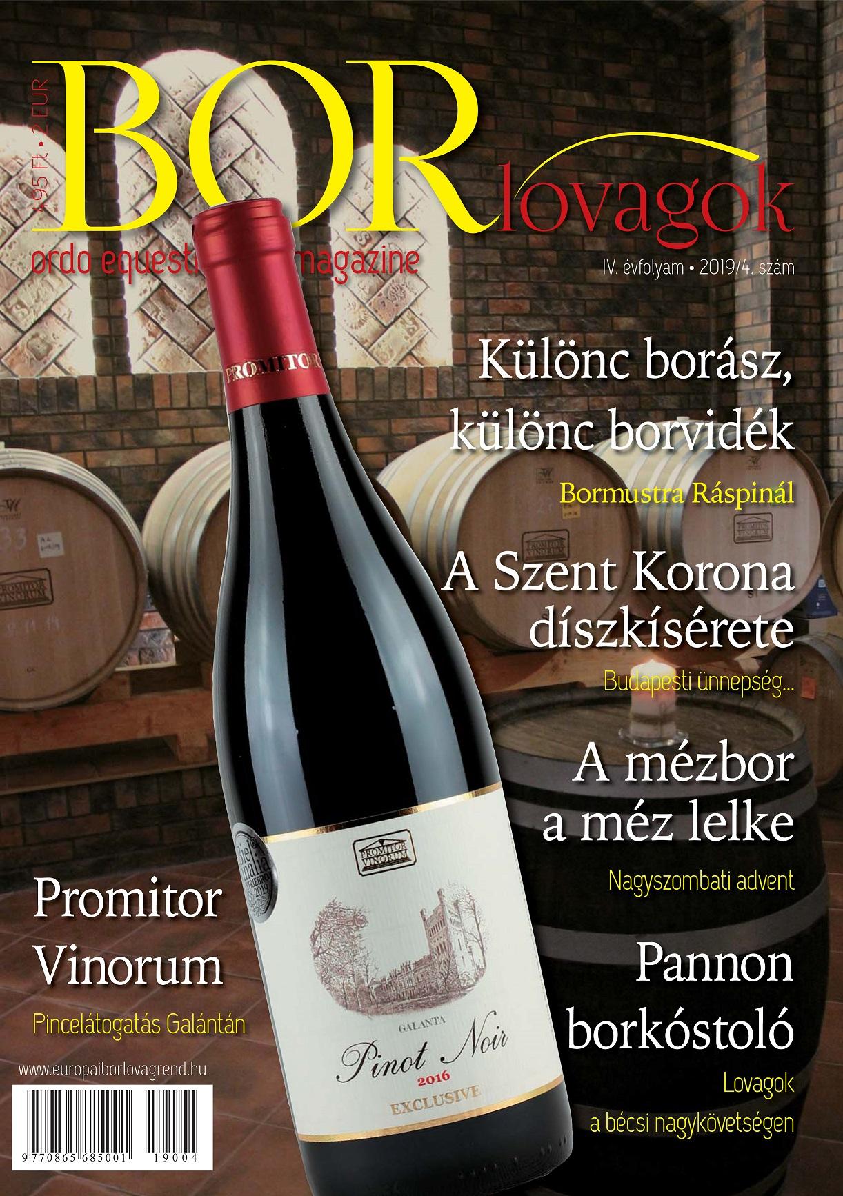 MEGJELENT A BORLOVAGOK Magazin 2019/4