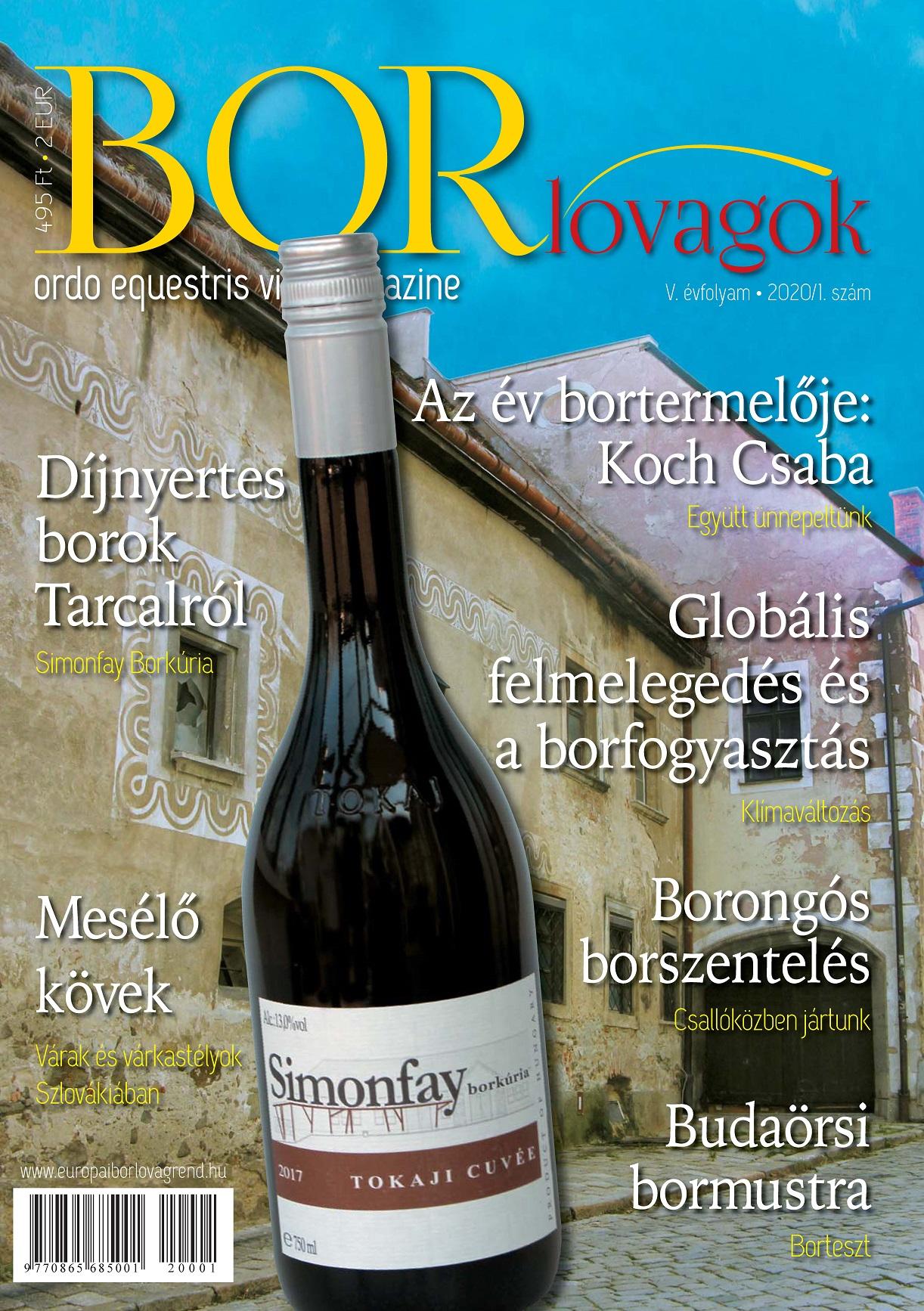 MEGJELENT A BORLOVAGOK Magazin 2020/1