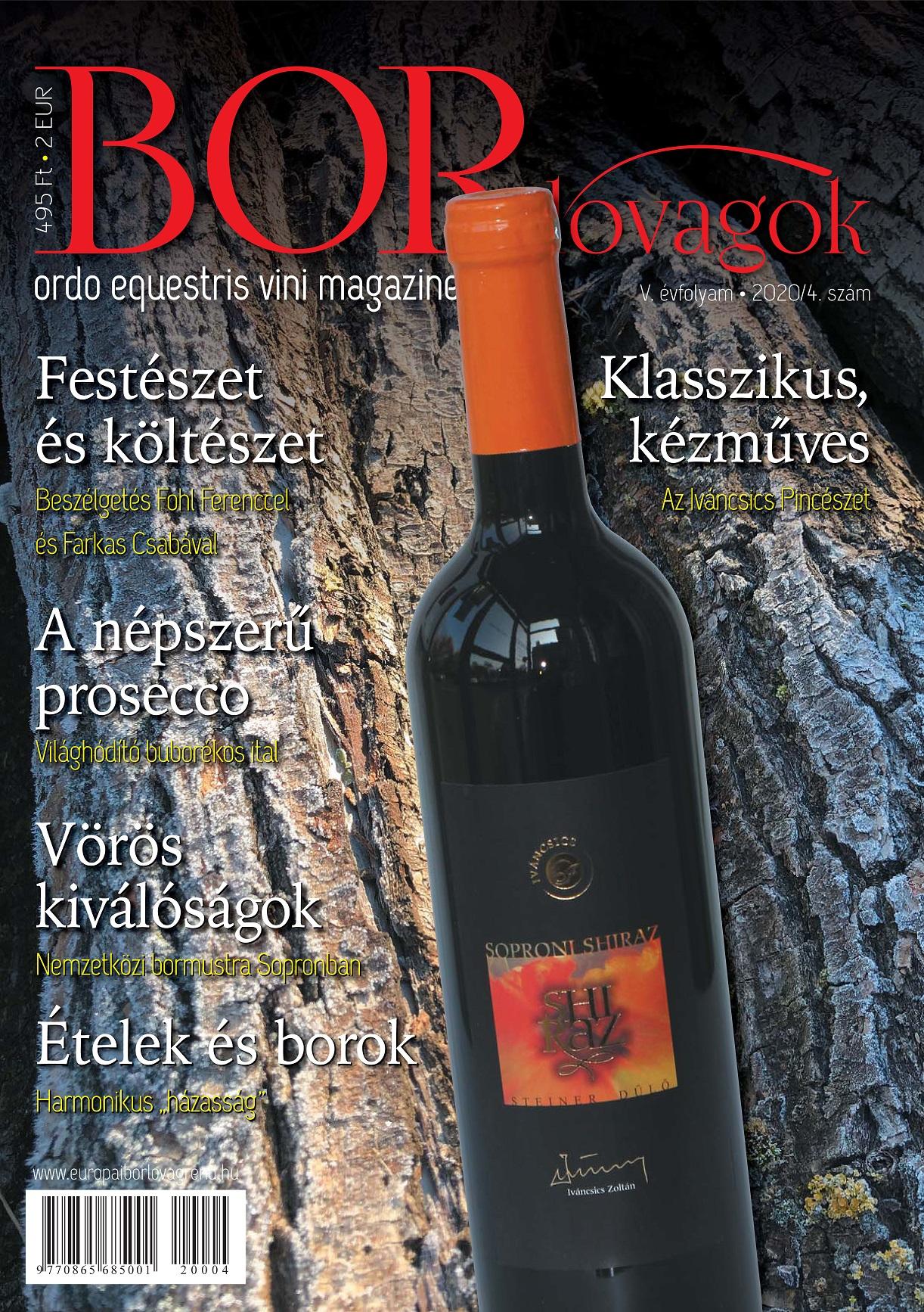 MEGJELENT A BORLOVAGOK Magazin 2020/4
