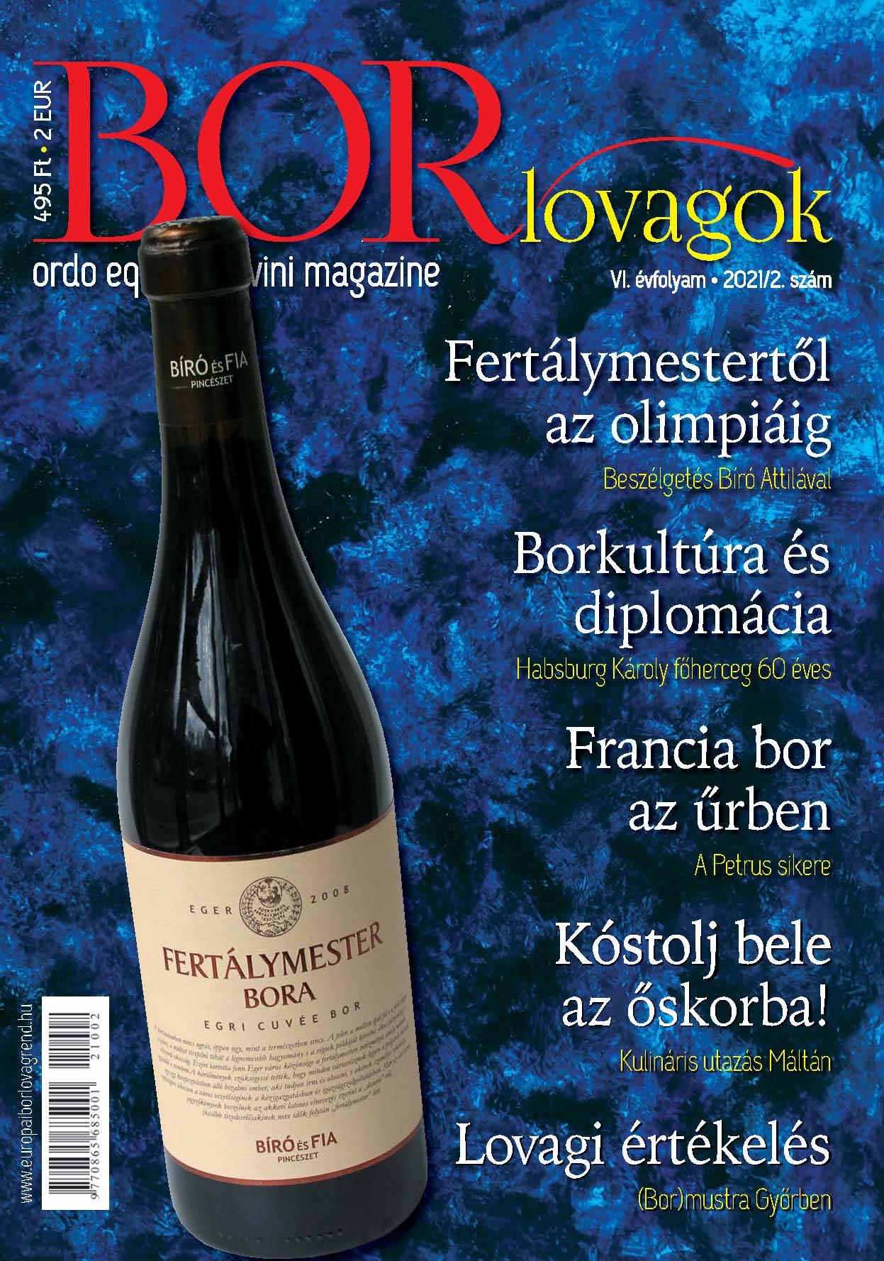 MEGJELENT A BORLOVAGOK Magazin 2021/2