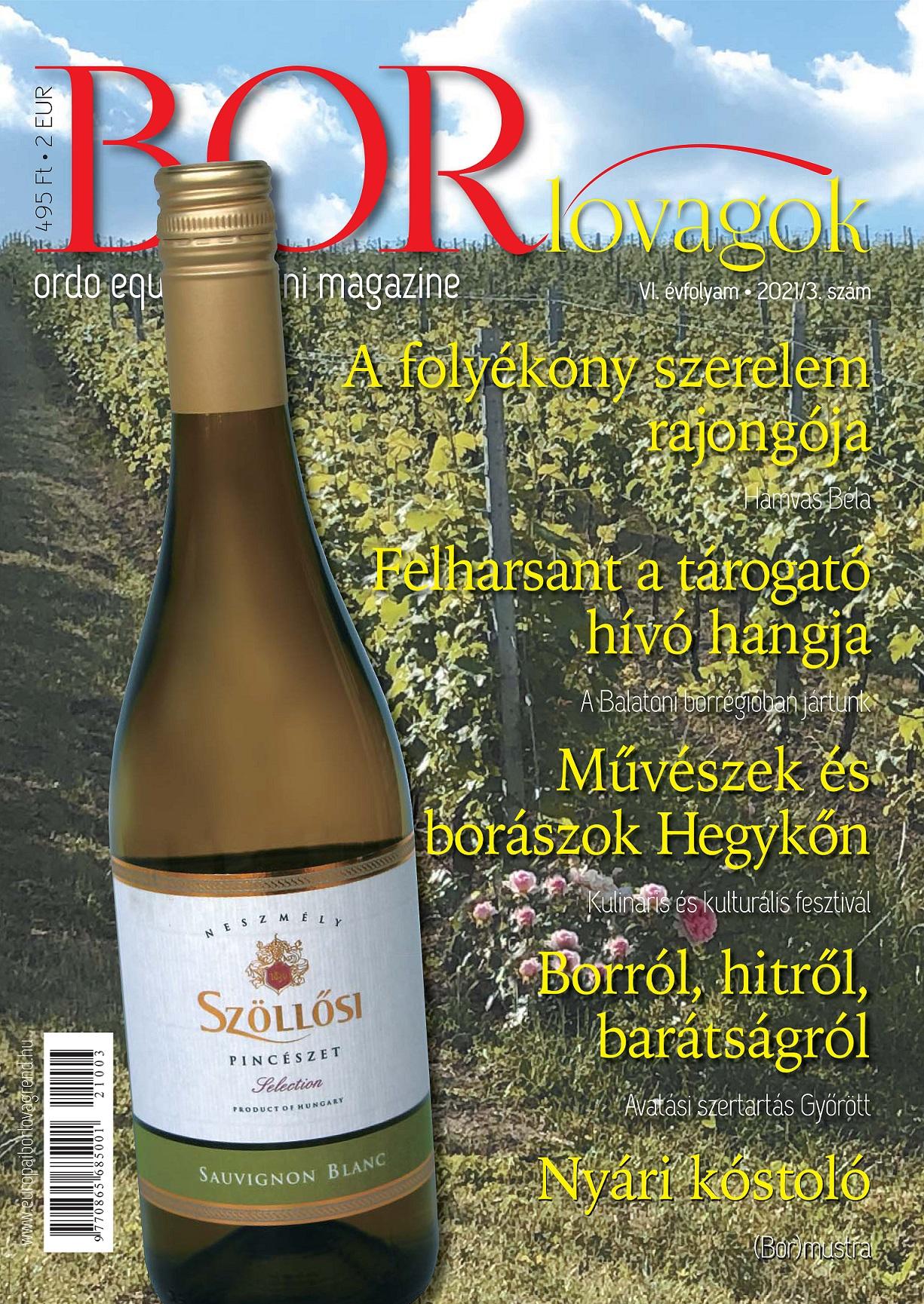MEGJELENT A BORLOVAGOK Magazin 2021/3